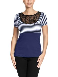 Pussy Deluxe Sally Striped Shirt blue – Bild 2