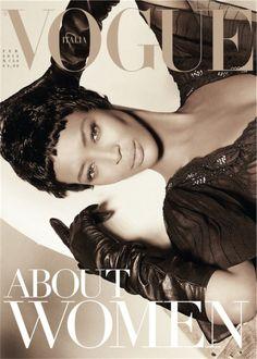 Naomi Campbell na Vogue Itália