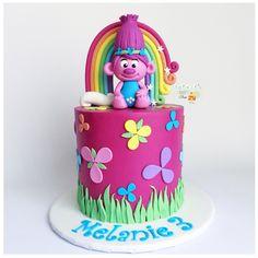 trolls cake poppy cake [instagram: @sophiesweetshop and sophiesweetshop.com in carson, california]