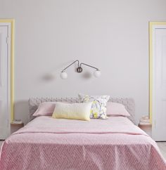 The Design Chaser: Stylist Laura Fulmine. Pastel bedroom