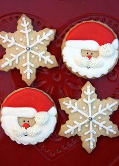Galletas navideñas y algunos secretos sobre la glasa