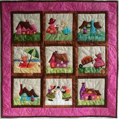 All Momas Quilt: Applikation