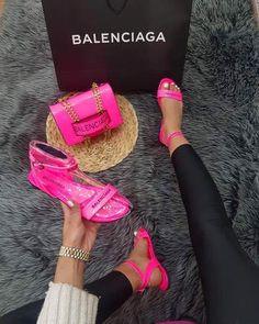 Versace Boots, Balenciaga Shoes, Chanel Shoes, Cute Shoes, Me Too Shoes, Sneakers Fashion, Fashion Shoes, Women's Fashion, Louis Vuitton Heels