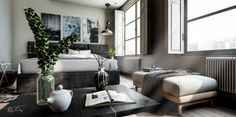 """Check out this @Behance project: """"Unreal Engine 4 - Archviz - Interior"""" https://www.behance.net/gallery/57807711/Unreal-Engine-4-Archviz-Interior"""