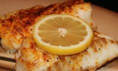 Broiled cod - otherwise known as Poor Man's Lobste...