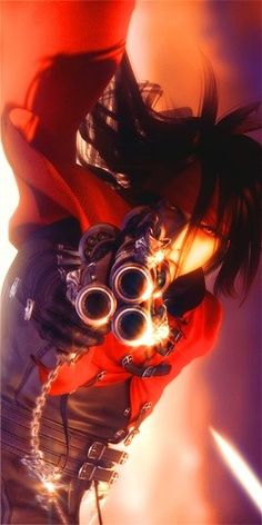 Vincent Valentine from Final Fantasy 7: Advent Children