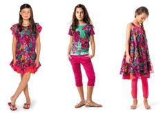 Catimini Spirit Ethnique new summer collection for 2014
