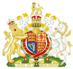 Coat of arms of the British monarch as sovereign of the Order of the Bath