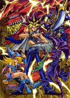 The first Yu-Gi-Oh! (=
