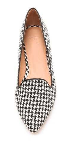 Houndstooth Loafers.