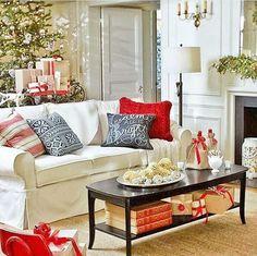 Christmas Living Room Decorating-16