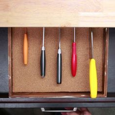 DIY Knife Organizer