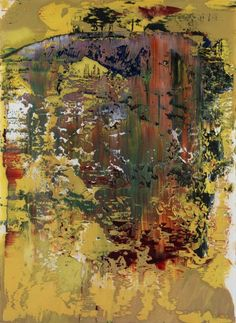 Gerhard Richter » Art » Oil on Paper » Untitled (1.5.1989)