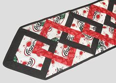 Coca Cola Quilt Quilted Table Runner Quilt by NewYorkTreasures