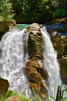 Inspiring you to take your journey. Washington Things To Do, Washington State, North Cascades, Waterfall, Motivational, Journey, Outdoor, Outdoors, Waterfalls