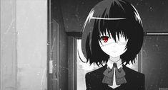 Misaki Mei (anime Another) All Anime, Manga Anime, Anime Girls, Anime Stuff, Another Misaki Mei, Otaku, Fanart, Corpse Party, Manga Cute