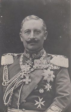 Kaiser Wilhelm II in Parade Uniform RARE Portrait 1910 PCD | eBay