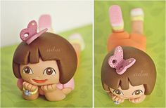 Dora the Explorer Fondant Cake Topper... CUUUUUTE!