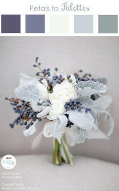 Recipe for a Winter Wedding Bouquet | Classy Fox Photography on @knotsvilla via @aislesociety