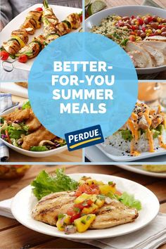Try these healthy PERDUE® Chicken recipes this summer. Slow Cooker Pressure Cooker, Slow Cooker Roast, Chicken Freezer Meals, Easy Chicken Recipes, Asian Bbq, Organic Soup, Baked Roast, Dinner Salads, Cooking Turkey