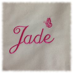 Personalised Embroidered Tote Bag £4.75