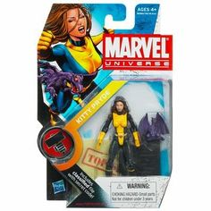 Marvel Universe 3 34 Inch Series 2 Action Figure 17 Kitty Pryde Lockheed *** To view further for this item, visit the image link.