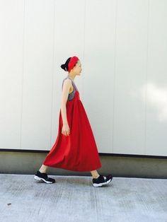 nanika│NIKEのスニーカーコーディネート