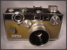HARRY POTTER - BLACK & TAN ARGUS MATCHMATIC CAMERA Vintage Old Antique Classic