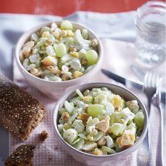 Tasty Dishes, Side Dishes, Salsa, High Tea, Salad Recipes, Potato Salad, Bbq, Rice, Lunch