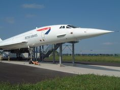 Concorde in Bristol. First flight: 2 March 1969..Introduction: 21 January 1976.. Retired: 26 November 2003.