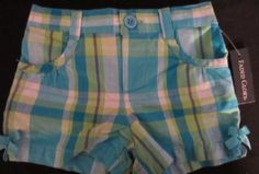 Faded Glory Infant Girls Shorts Size 12 Months. Free US Shipping.