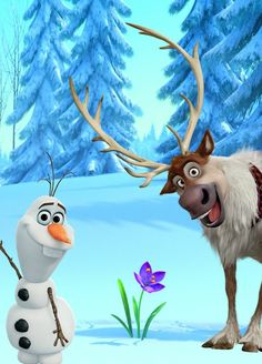 Which Disney Sidekick are you? - Olaf & Sven The Effective Pictures We Offer You About cartoon caricaturas A quality picture can te - Film Disney, Disney Magic, Disney Art, Disney Movies, Disney Pixar, Disney Stuff, Disney Frozen Olaf, Sven Frozen, Frozen Movie