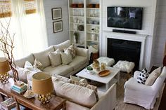 Family room sectional