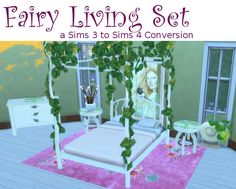 Fairy Living Set at Leander Belgraves • Sims 4 Updates
