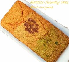 Mercury Information Management Platform: Diabetic-Friendly Cake: Sugarless, Butterless With Bulgar Wheat