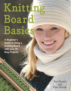 Knitting Board Basic Book, Authentic Knitting Board and Looms