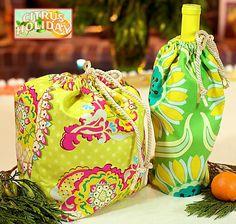 Reversible Gift & Wine Bags