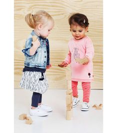 Outfit inspiratie van babyface bij wehkamp #baby #kleuter #toddler #wehkamp #babyface #denim #kleding #meisje #outfit