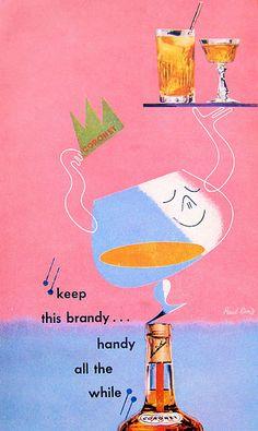 Paul Rand - Coronet Brandy