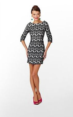 Lilly Pulitzer - for Women Chevron Dress