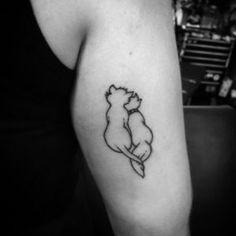 25 Tasteful & Simple Cat Tattoo Designs - Purrfect Love