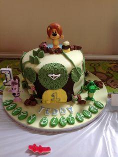 Raa raa cake
