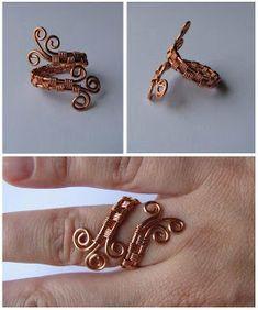 Wiggly Wires by sulyokjuli: Gyűrűk