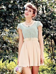 Vintage inspired dress from asianicandy