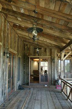Barn-like the siding