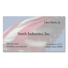 Swirling usa flag business card businesscard americanflag usa flag swirl business card reheart Images