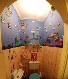 Progress on my toilet! Photomerge didn't go great, but ya'll get the idea
