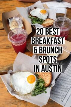 20 Best Breakfast & Brunch Spots in Austin The ultimate guide to the best breakfast and brunch in Austin! Featuring 20 different restaurants that serve up the absolute best early bites in town. Breakfast And Brunch, Breakfast Smoothies, All You Need Is, Austin Brunch, Best Breakfast In Austin, Best Brunch Places, Breakfast Restaurants, Austin Food, Brunch Spots