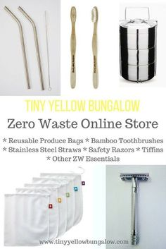 Online store to buy Zero waste products. Zero waste, Eco friendly, Plastic Free, Natural Living