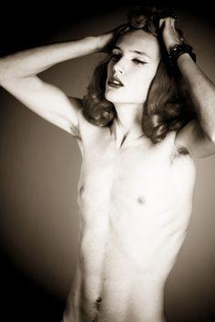 Dzhovani Gospodinov, androgynous, androgyny, male model, Riccardo Slavik